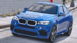 BMW X6M F16 V3.0 for Grand Theft Auto V