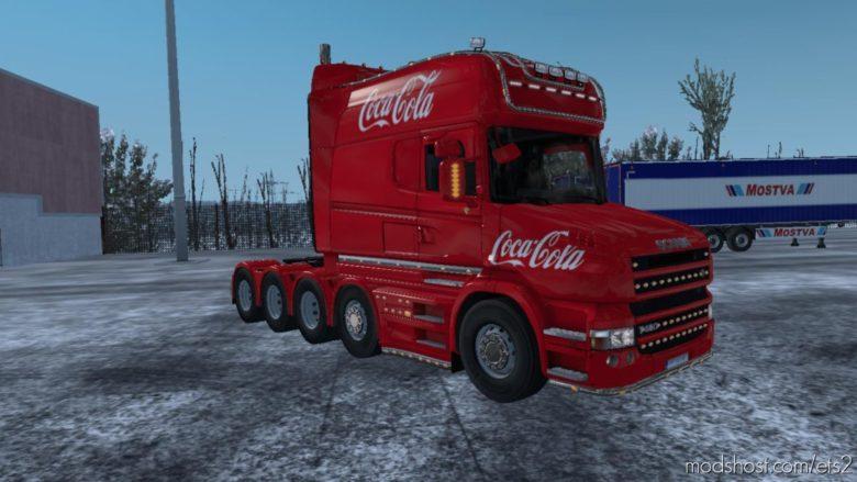 Scania Coca-Cola Christmas Skin [1.39] for Euro Truck Simulator 2