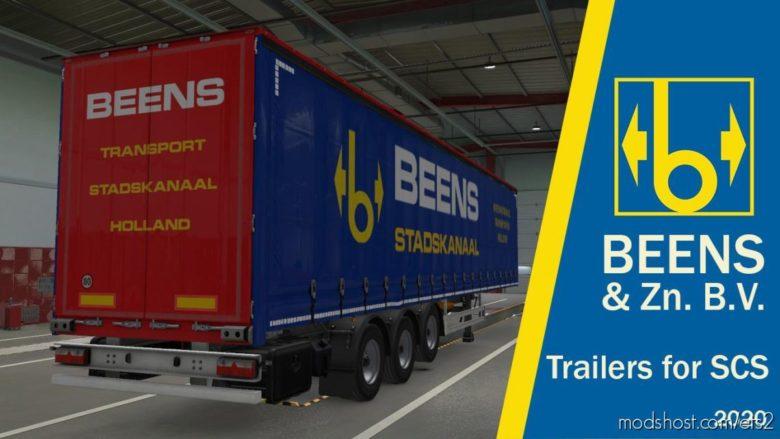Beens & ZN. B.V. Stadskanaal For Default Trailer SCS for Euro Truck Simulator 2