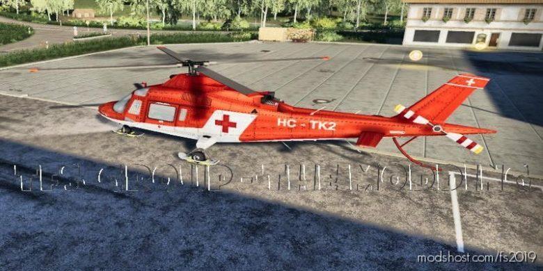 Agusta A109 Rescues V2.0 for Farming Simulator 19