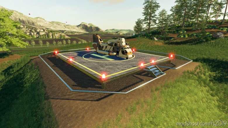 Helipad for Farming Simulator 19