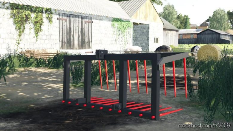 Back Manure Fork for Farming Simulator 19