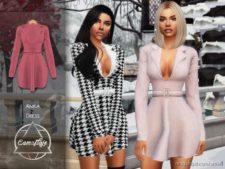 Camuflaje – Anika (Dress) for The Sims 4