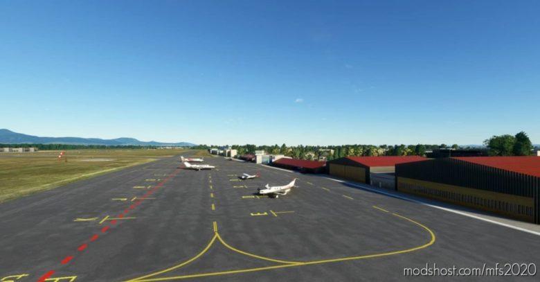 Colmar-Houssen Airport -Lfga V1.1 for Microsoft Flight Simulator 2020