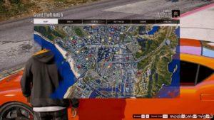 4K Satellite View Map Bundled With Radar Mod & Zoom Script V1.0.5 for Grand Theft Auto V