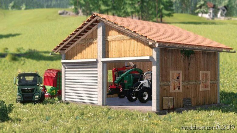 Machine Shed for Farming Simulator 19