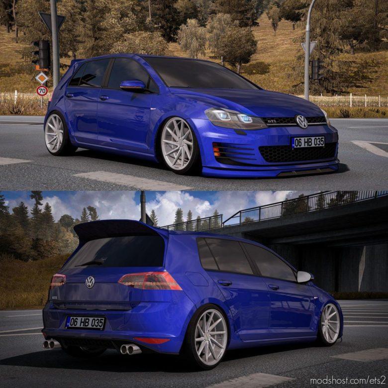Volkswagen Golf 7 GTI [1.39] for Euro Truck Simulator 2