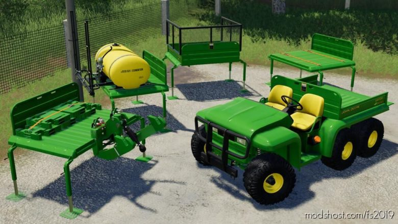 John Deere Gator 6X4 for Farming Simulator 19