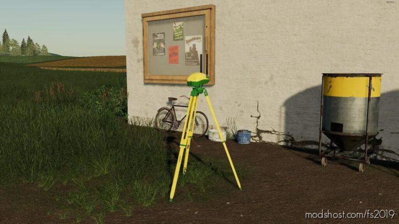 John Deere RTK Stations Pack for Farming Simulator 19