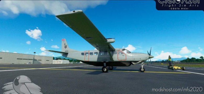 Costa Rica Police | MSP024 | Asobo Cessna C208B EX Grand Caravan (8K) for Microsoft Flight Simulator 2020