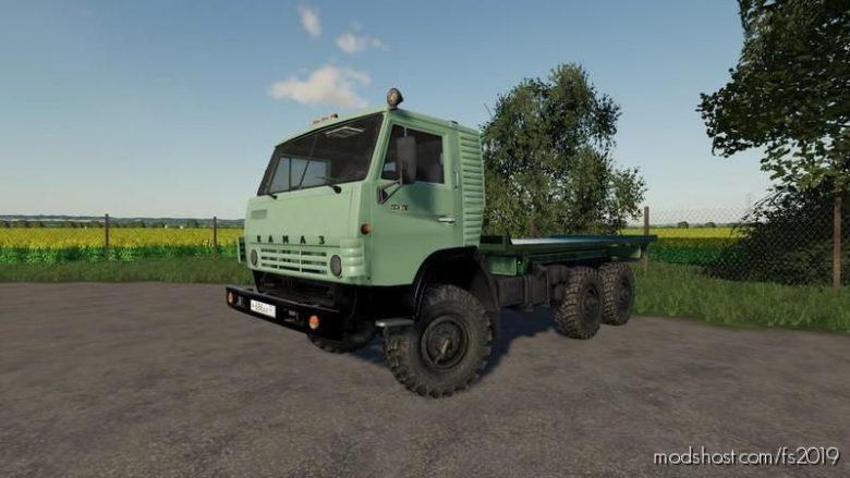 Kamaz 4310 Platform for Farming Simulator 19