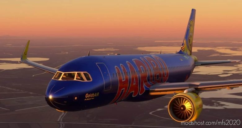 A320 NEO TUI Haribo Goldbair (Thomson Airways Limited) for Microsoft Flight Simulator 2020