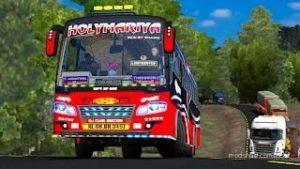 Maruti Coach Kerala BUS Design [1.39] V2.0 for Euro Truck Simulator 2