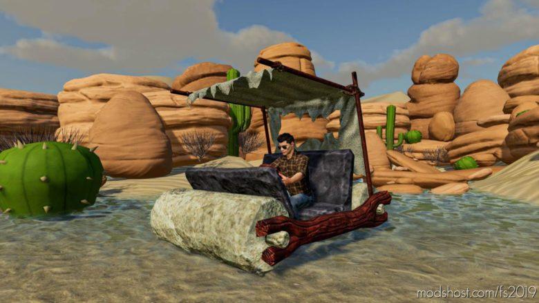 Flintstone CAR for Farming Simulator 19