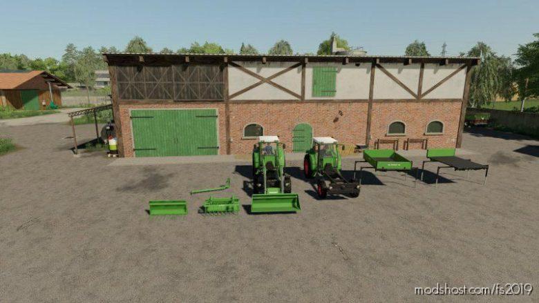 Fendt F255GT Pack for Farming Simulator 19
