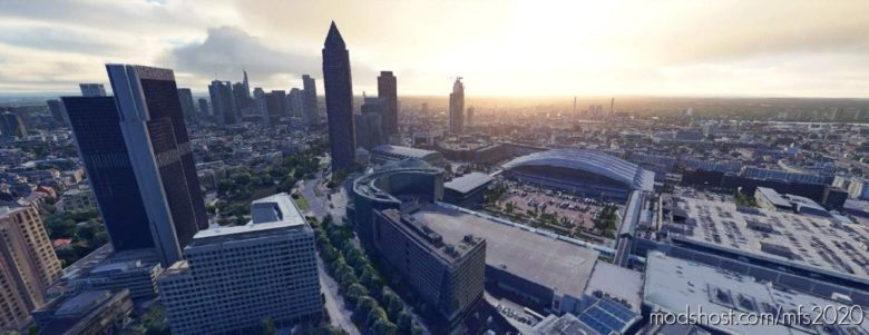Frankfurt, Germany for Microsoft Flight Simulator 2020