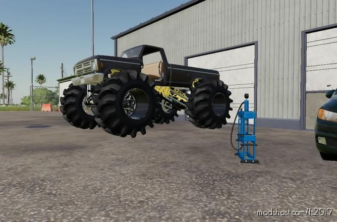 BIG Foot Rodeo for Farming Simulator 19