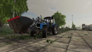 MTZ-1221 Frontloader for Farming Simulator 19