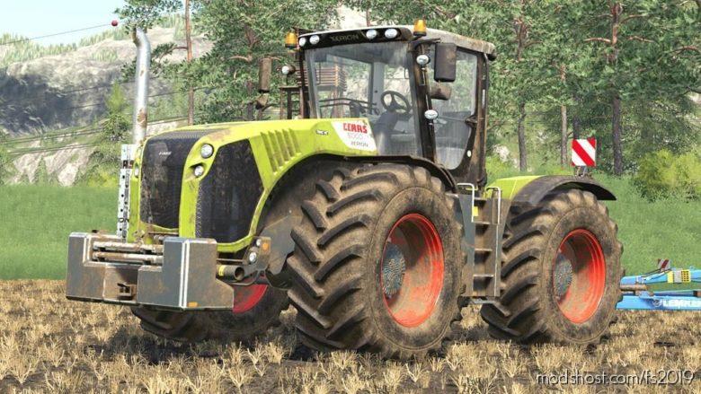 Claas Xerion 4000/5000 Series for Farming Simulator 19