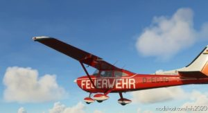 Carenado Cessna 182 Skylane_Feuerwehr Niedersachsen (OLD) D-Ecjg for Microsoft Flight Simulator 2020