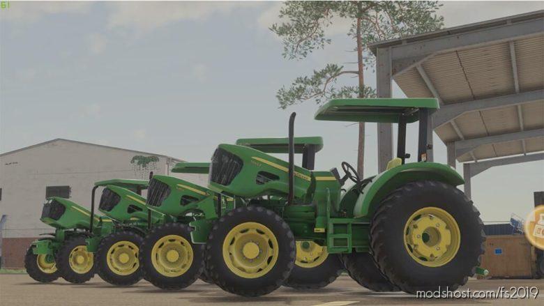 John Deere 5075E for Farming Simulator 19
