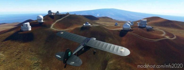 Savage CUB N168MK Mokulele Hawaii for Microsoft Flight Simulator 2020
