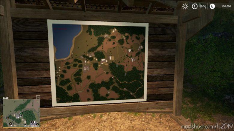 Field Mountain 2 V1.1.7.1 for Farming Simulator 19