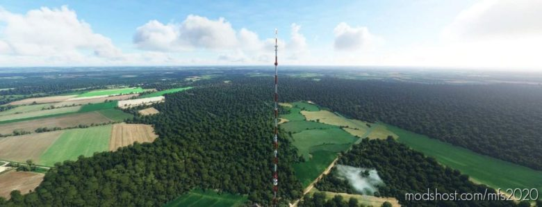 TV And Radio Transmitters Of Germany V1.1 for Microsoft Flight Simulator 2020