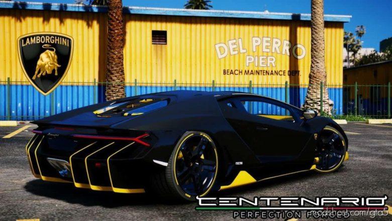 Lamborghini Centenario LP770-4 V1.4 for Grand Theft Auto V