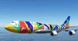 Boeing 747-8 South African Airways Ndizani Zs-Saj for Microsoft Flight Simulator 2020