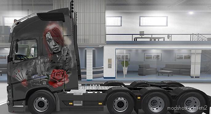 Volvo Pendragon Rose Skin [1.39] for Euro Truck Simulator 2