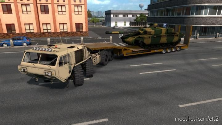 Oshkosh Hemtt [1.39] for Euro Truck Simulator 2