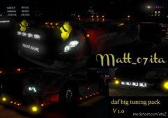 DAF XF 105 BIG Tuning Pack [1.39.X] for Euro Truck Simulator 2