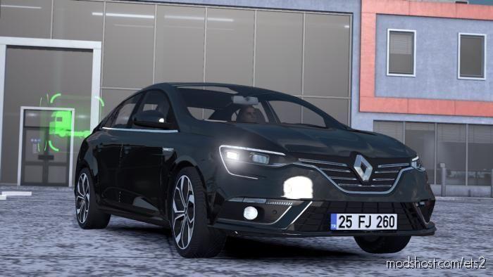 Renault Megane IV V1R50 (1.39) for Euro Truck Simulator 2