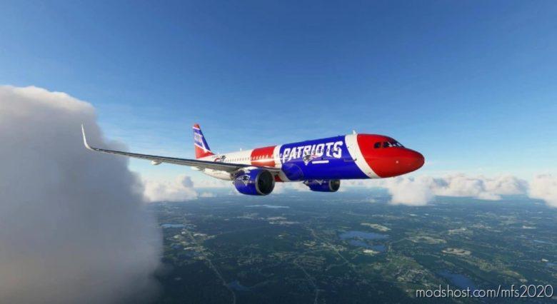 NEW England Patriots for Microsoft Flight Simulator 2020
