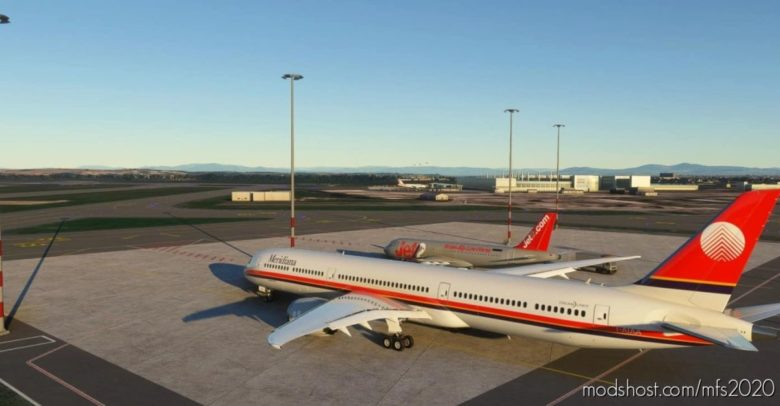 Boeing 787-10 Meridiana for Microsoft Flight Simulator 2020