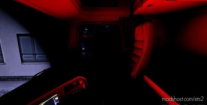 Scania R RGB Cabin Light for Euro Truck Simulator 2