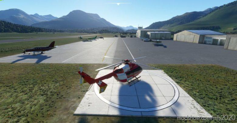 Lszs – ST. Moritz Samedan (Switzerland) for Microsoft Flight Simulator 2020