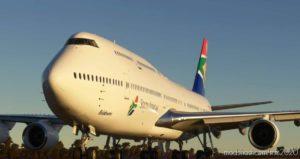 Boeing 747-8 South African Airways for Microsoft Flight Simulator 2020