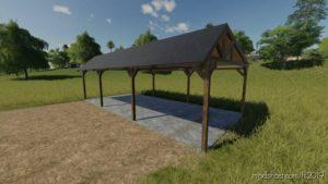 Drewniana Wiata for Farming Simulator 19