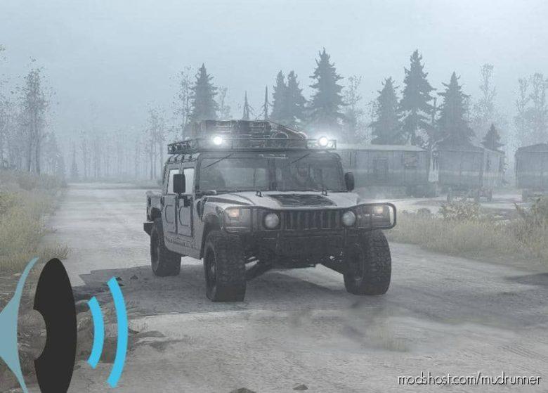 NEW Sound For Hummer H1 for MudRunner