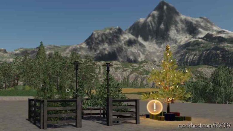 Christmas Market Trees for Farming Simulator 19