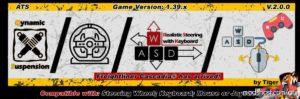Dynamic Suspension V2.0.1 [1.39.X] for American Truck Simulator