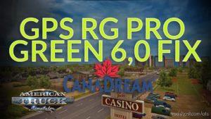 GPS RG PRO Green FIX Canadream V6.0 for American Truck Simulator