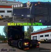 Scania Streamline Rework + Parts By Matt_07Ita for Euro Truck Simulator 2