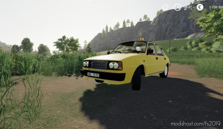 Skoda 120LS for Farming Simulator 19
