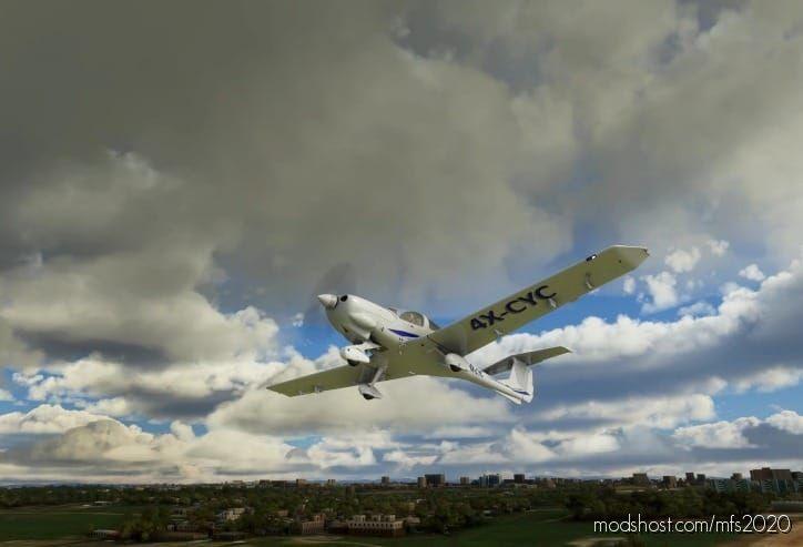 Diamond DA-40 TDI – 4X-Cyc for Microsoft Flight Simulator 2020