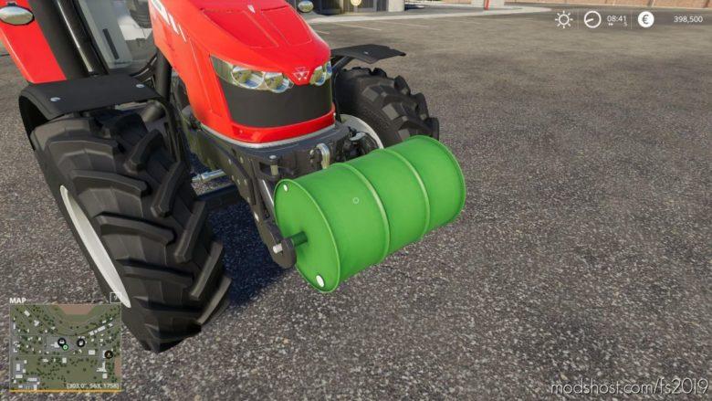 570KG Weight for Farming Simulator 19