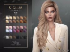 Sclub TS4 Hair N66 Victoria for The Sims 4