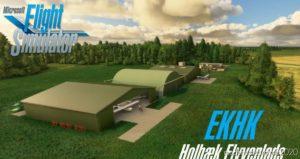 Ekhk – Holbæk Flyveplads V1.01 for Microsoft Flight Simulator 2020